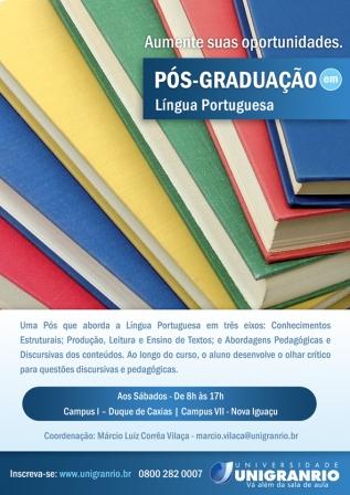 Pós em Língua Portuguesa - UNIGRANRIO