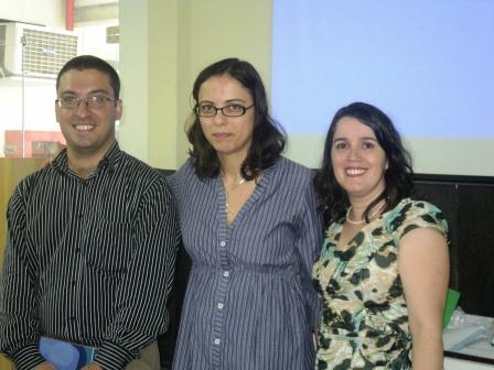 Márcio Vilaça, Paula Szundy e Solimar Silva