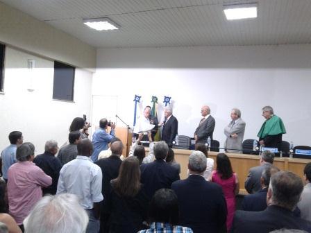 Ruy Garcia Marques em Cerimônia na UNIGRANRIO